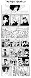 +Sasuke's Portrait x3+ by kuraudia