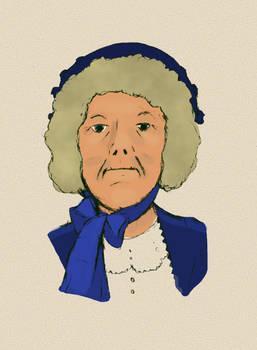 Mrs Rosenblatt in oil