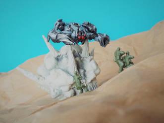 Scorponok Attacks by The-Dapper-Scrapper