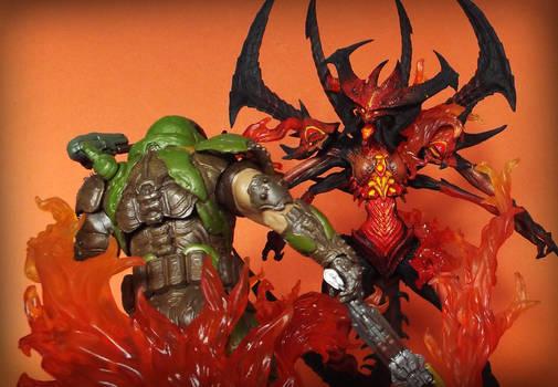 Doom Slayer vs Diablo