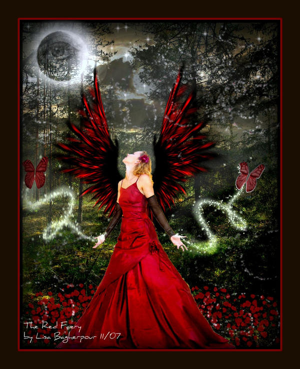 The Red Faery by FairieGoodMother