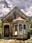 Old Falling down house stock 7