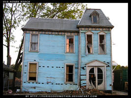 Old Abandoned House 5 by FairieGoodMother