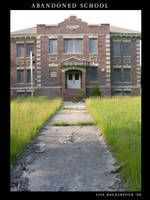 Old Abandoned School Stock 3 by FairieGoodMother