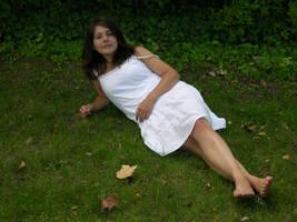 Cima in White Dress Stock 24