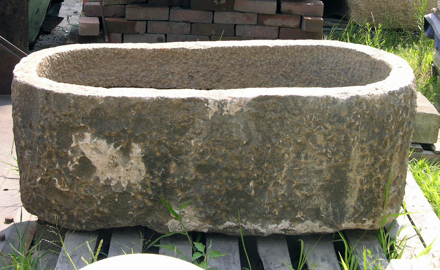 Large Stone Bat Tub 1 by FairieGoodMother
