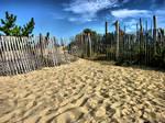 Beach Background stock