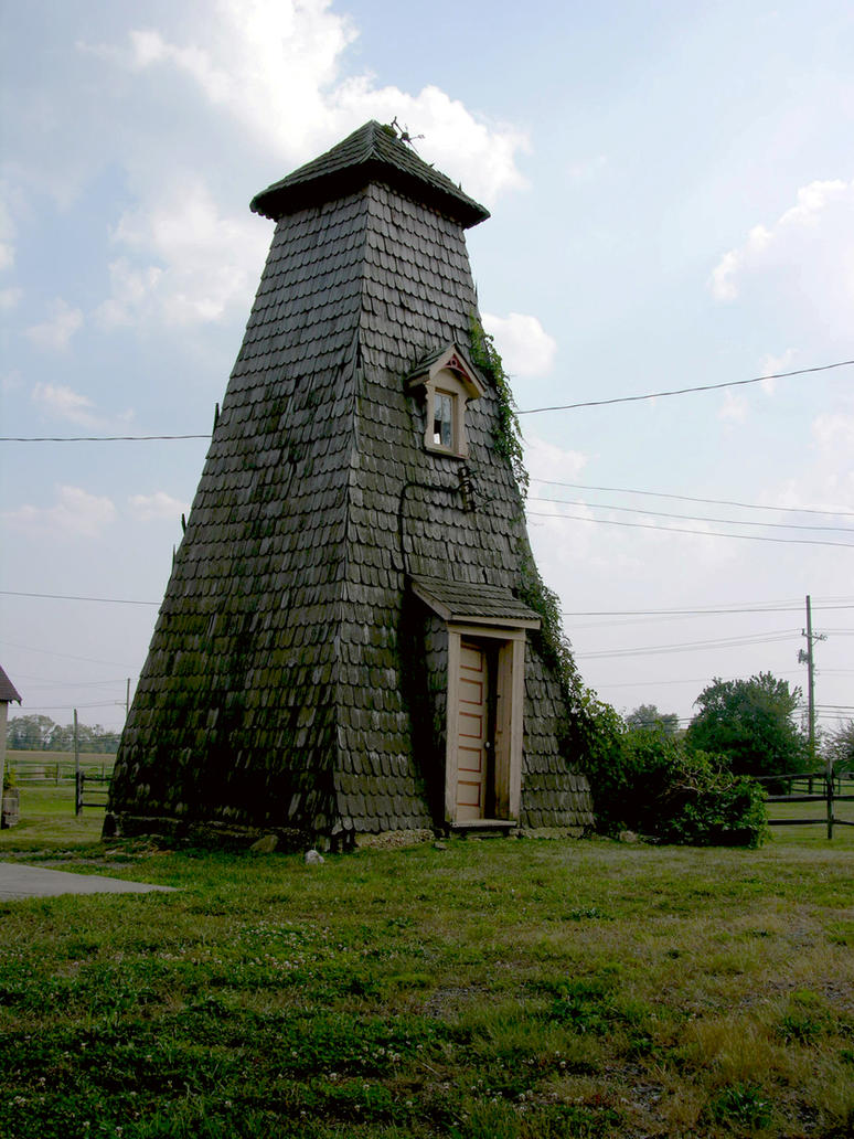 Strange Cone House 5 by FairieGoodMother