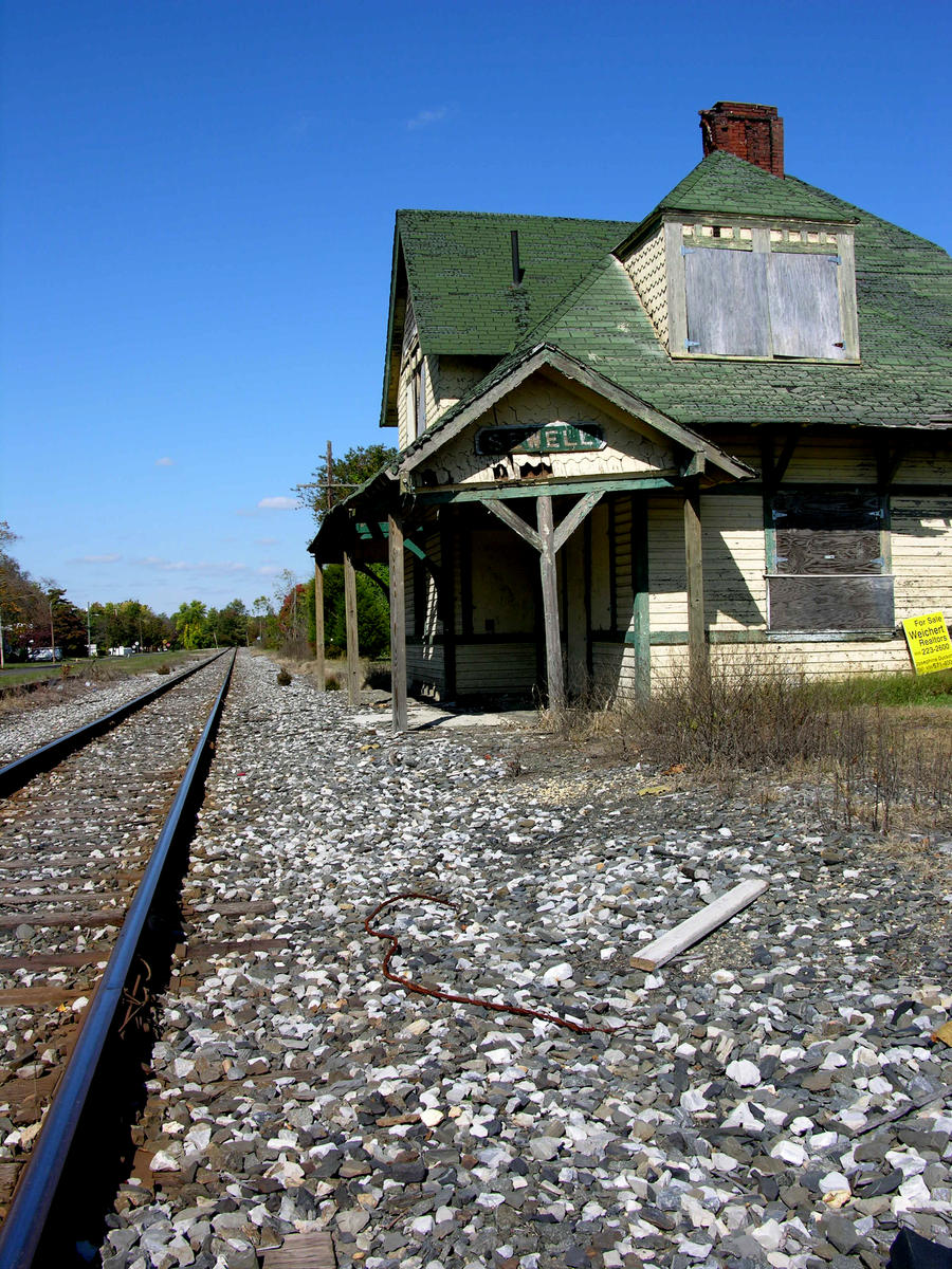Abandoned Train Station 2 by FairieGoodMother