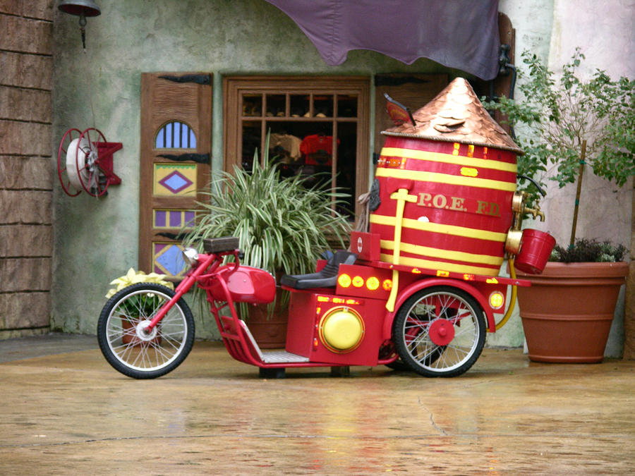 Santa's Fire Department by FairieGoodMother