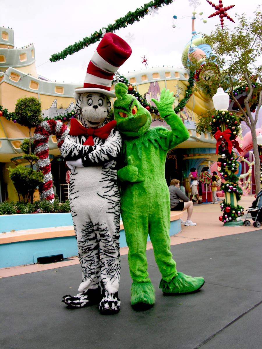 The Grinch Vs The Cat In The Hat