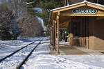 Snow Covered Train Station 3