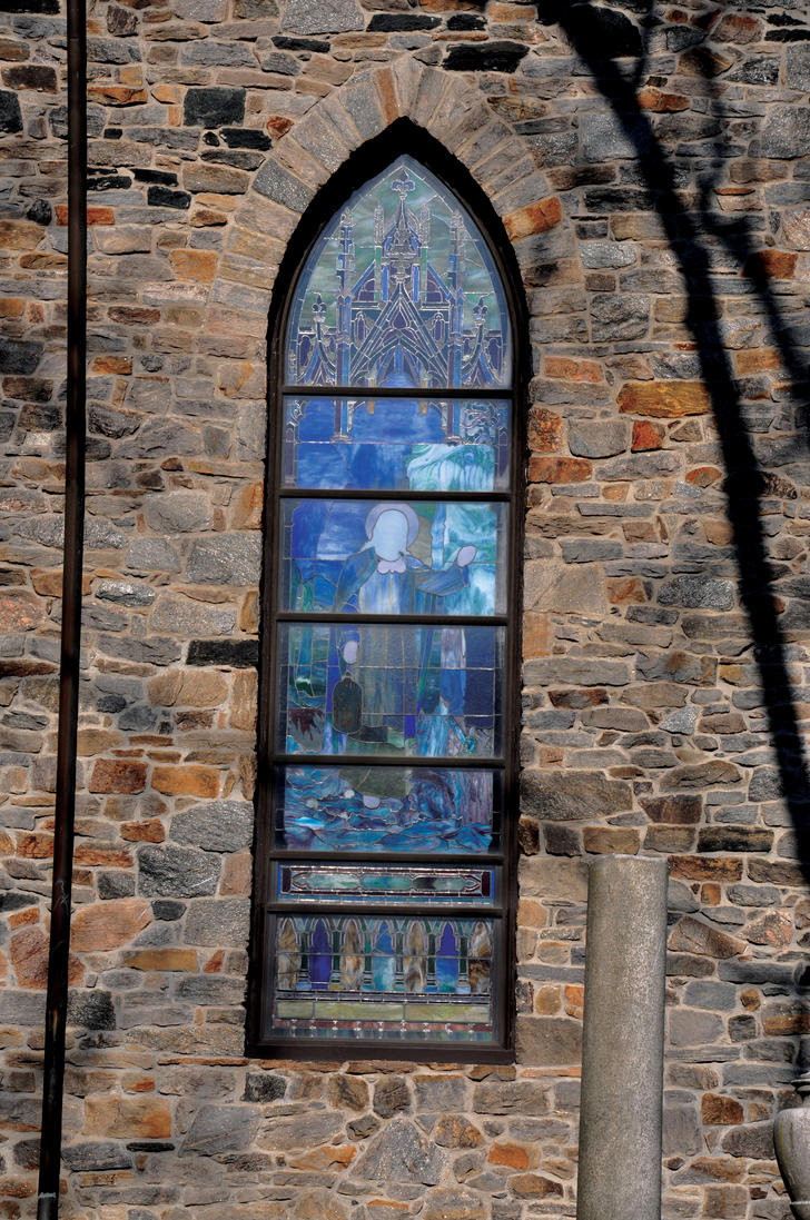 Church Stained Glass Window by FairieGoodMother
