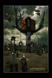 A Steampunk Family