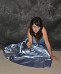 Cima in Blue Dress 20