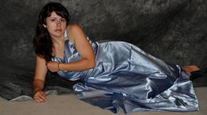 Cima in Blue Dress 25