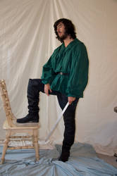 Male Rogue Full Body Stock 11 by FairieGoodMother
