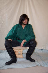 Male Rogue Full Body Stock 30 by FairieGoodMother