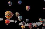 Precute Hot Air Balloons 3