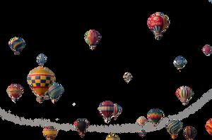 Precute Hot Air Balloons 11 by FairieGoodMother