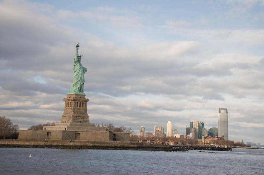 Statue of Liberty Park Stock 5 by FairieGoodMother
