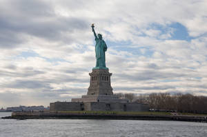 Statue of Liberty Park Stk 22 by FairieGoodMother