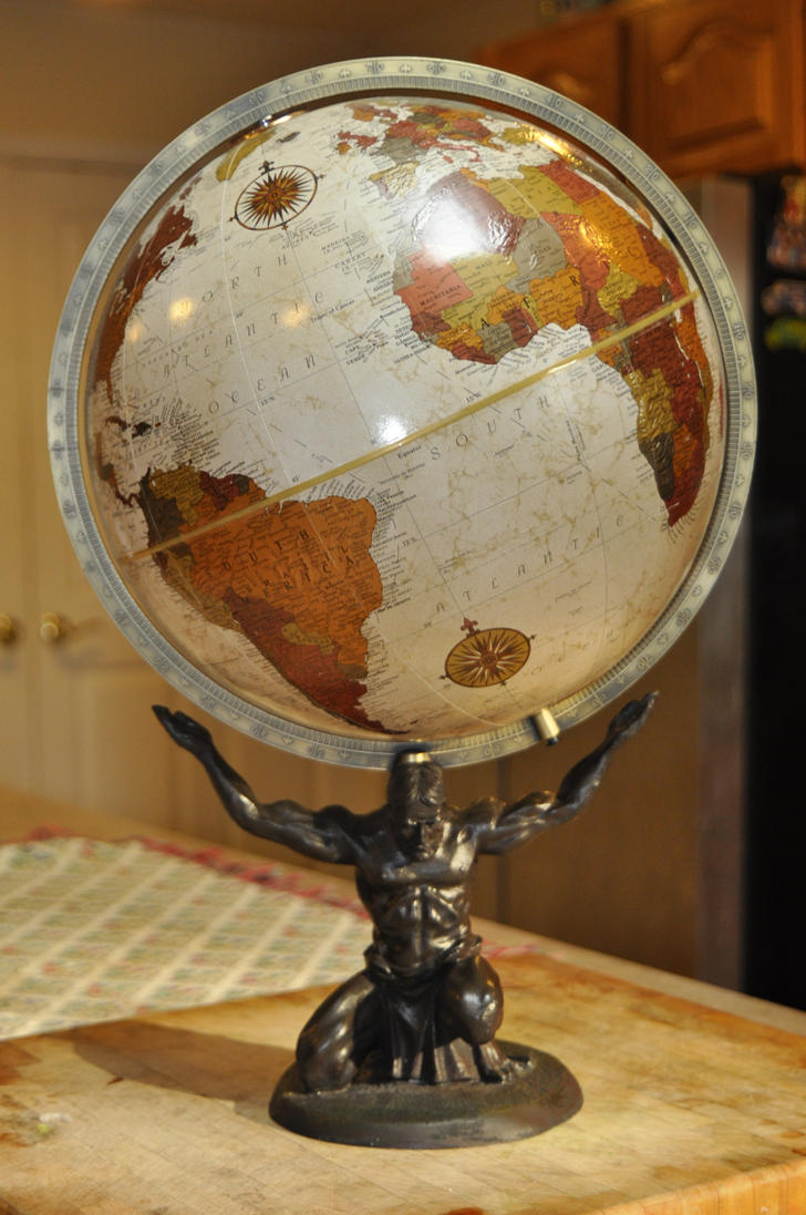 Replogle Atlas Globe by FairieGoodMother