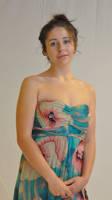 Cima in Flower Dress  031