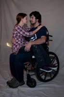 Wheelchair Couple Stock 11 by FairieGoodMother