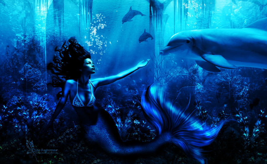 Sea Beauty Mermaid Coastal Distressed Look Wall Decor Plaque
