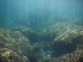 Panama Canal underwater stock 038 by FairieGoodMother