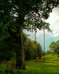 Tree with Swing Background FGM
