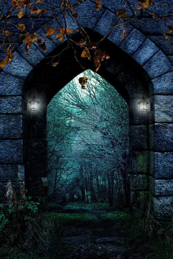 Entryway To Forest Background Fgm By Fairiegoodmother On Deviantart