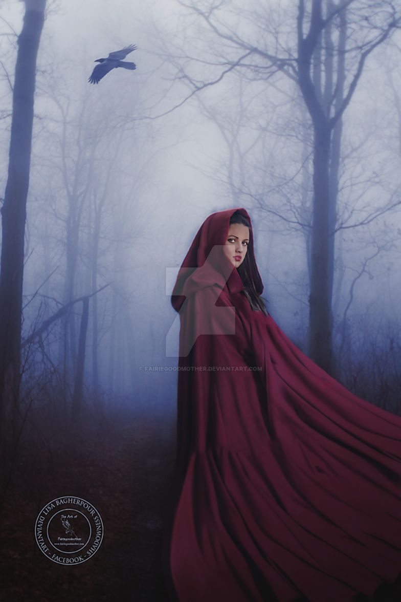 Red Ridding Hood by FairieGoodMother