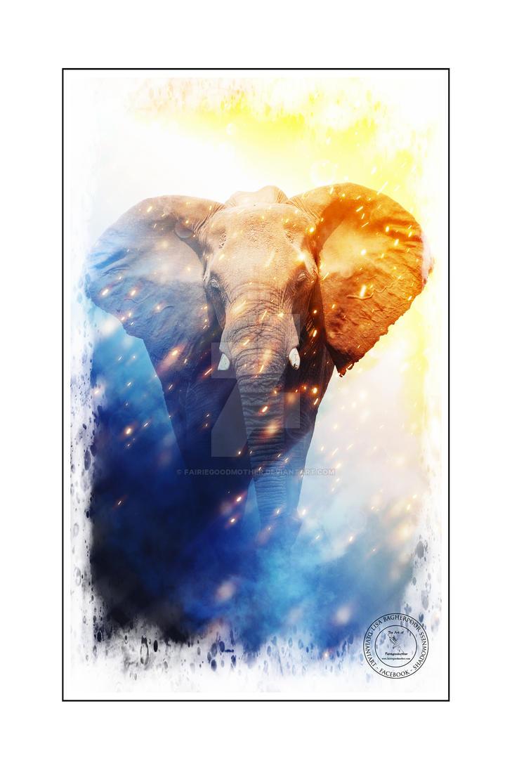 Elephant by FairieGoodMother