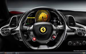 Ferrari Dashboard by monaratuliu