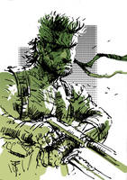 Art of the day #162 'MGS : Snake Eater' by artofTZU