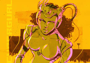 Art of the day #223 'CyberGurl 013'