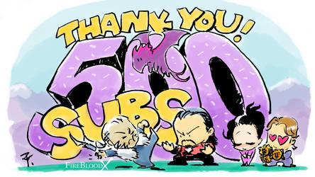 500 sub YouTube Thank You!