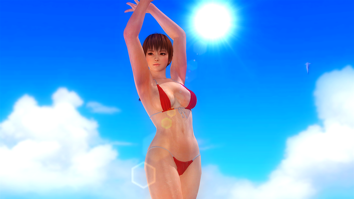 Dead or Alive 5 Last Round PC Phase 4 Swimsuit Mod by karoshikurenai