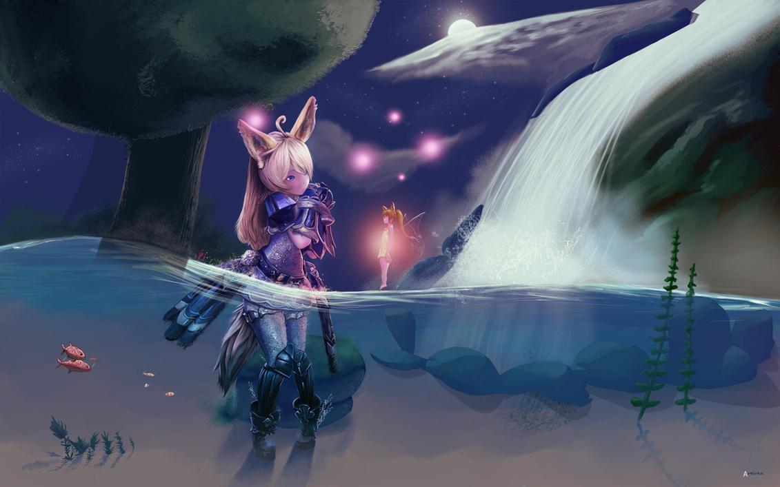 Elin - Tera Online by Aetaluta