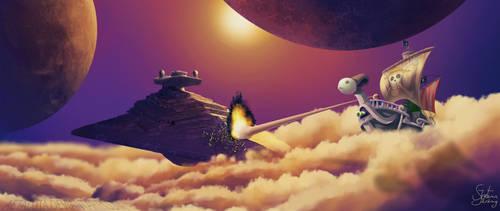Mugiwara's vs Galactic Empire by Aetaluta