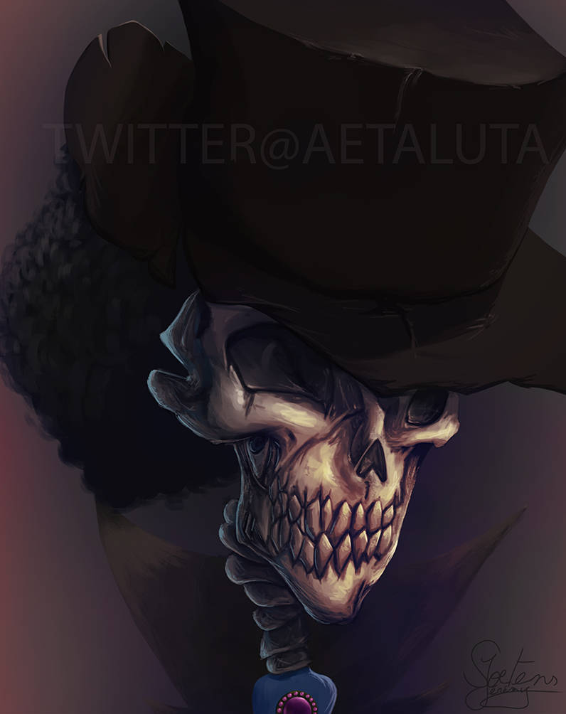 Brook - One Piece by Aetaluta
