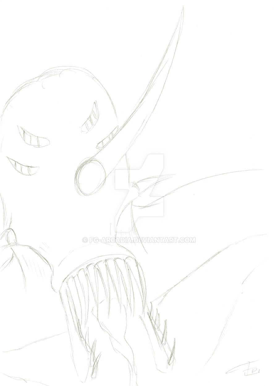 SKETCH Horned Monster