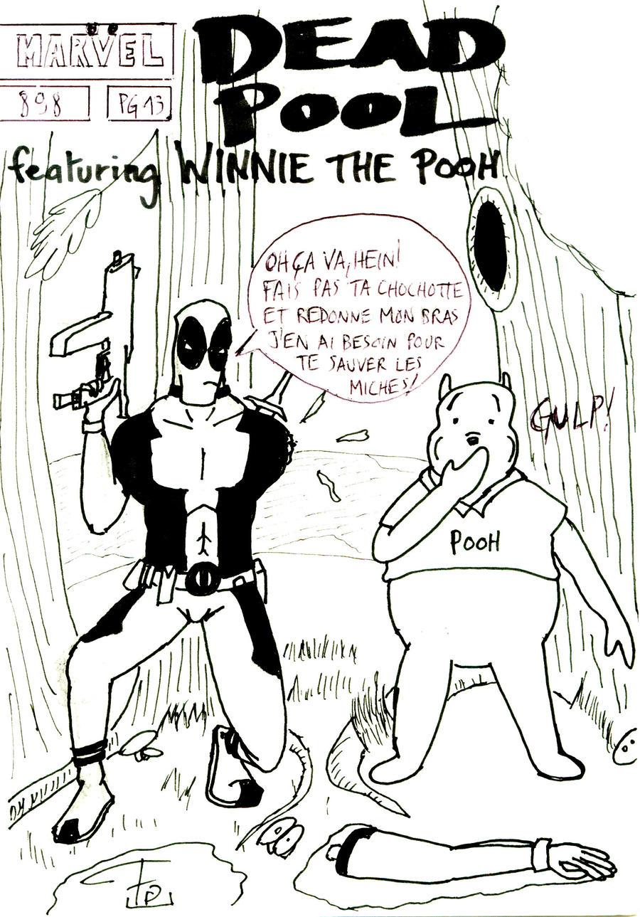 Deadpool Disney Team-Up