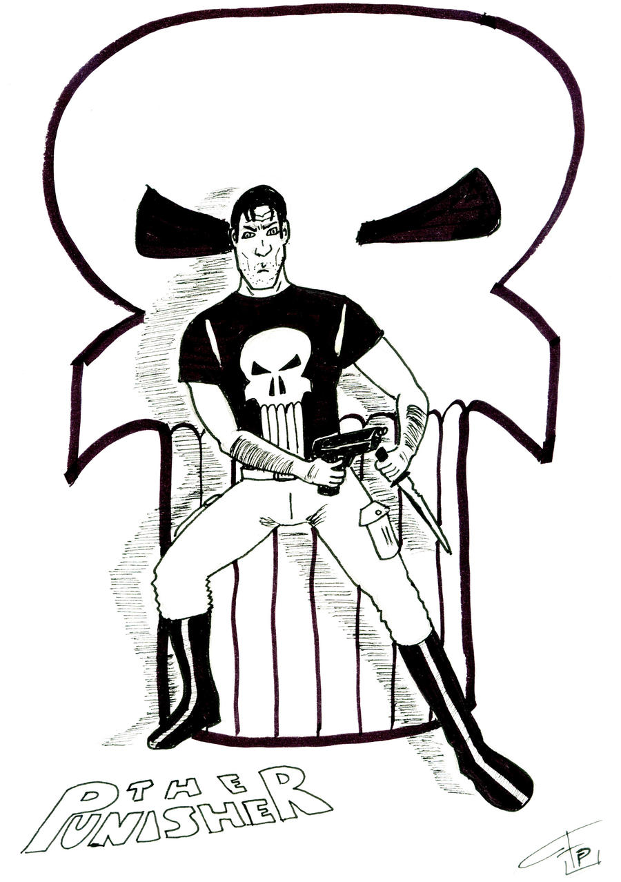 The Punisher - Inks