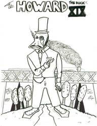 Howard The Duck XIX inked by FG-Arcadia