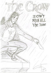 The Crow sketch by FG-Arcadia
