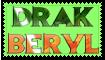 Drak Beryl stamp by FG-Arcadia