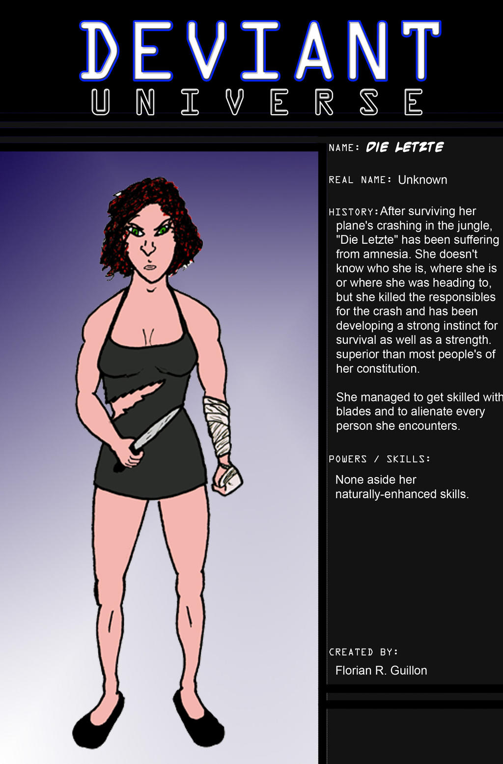 Die Letzte - DU Profile by FG-Arcadia